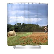 Tennessee Hunting Shower Curtain