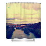 Tennessee Landscape Shower Curtain