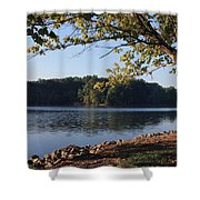 Tennessee River In Knoxville Shower Curtain