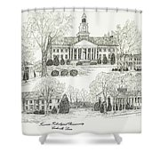 Tennessee Technological University Shower Curtain