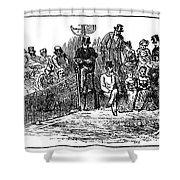 Tennis Wimbledon, 1879 Shower Curtain