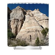Tent Rocks 1 Shower Curtain