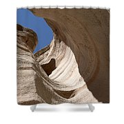 Tent Rocks Shower Curtain