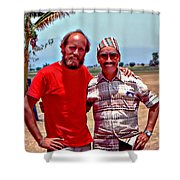 Tenzing Norgay Shower Curtain