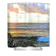 Tequila Dawn Shower Curtain