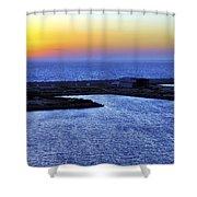 Tequila Sunrise Shower Curtain by Jason Politte