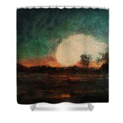 Tequila Sunrise Photo Art 03 Shower Curtain