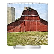 Ter-aine Farm Shower Curtain