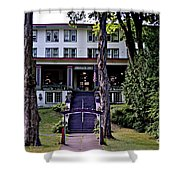 Terrace Inn Shower Curtain