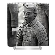 Terracotta Army Warriors In Xian China Shower Curtain