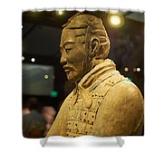 Terracotta Soldiers Shower Curtain