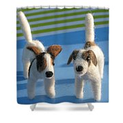 Terriers Shower Curtain