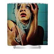Terrified Shower Curtain