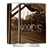 Terry Store 1891 Shower Curtain