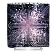 Tesla Cage Shower Curtain