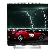 Tesla Shower Curtain