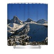 Teton Backcountry Shower Curtain
