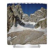 1m9385-teton Glacier Shower Curtain