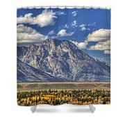 Teton Glory Shower Curtain