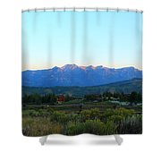 Teton Light Shower Curtain
