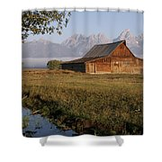 Teton Morning Magic Shower Curtain