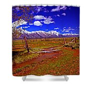 Tetons From Antelope Flats Shower Curtain