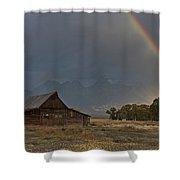 Teton's Pot Of Gold Shower Curtain