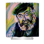 Tevye Fiddler On The Roof Shower Curtain