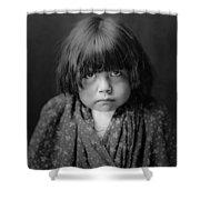 Tewa Indian Child Circa 1905 Shower Curtain