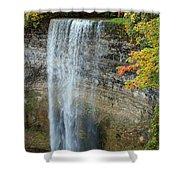 Tews Falls In Autumn Shower Curtain