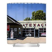 Texaco Nm Shower Curtain