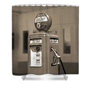 Tokheim Gas Pump 2 Shower Curtain