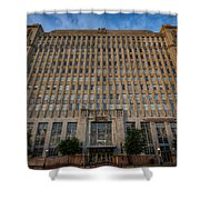 Texas And Pacific Lofts Color Shower Curtain