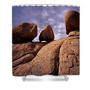 Texas Canyon Gnomes Shower Curtain