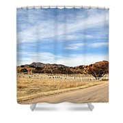 Texas Canyon In February Shower Curtain