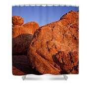 Texas Canyon Sunrise 1 Shower Curtain