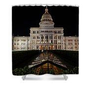 Texas Capital Building Shower Curtain