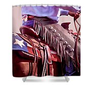 Texas Cowboy Shower Curtain