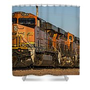 Texas Freight  Shower Curtain