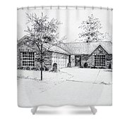 Texas Home 1 Shower Curtain by Hanne Lore Koehler