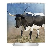 Texas Longhorn #7 Shower Curtain