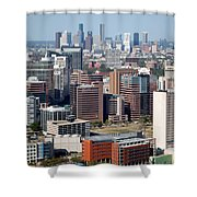Texas Medical Center In Houston Shower Curtain