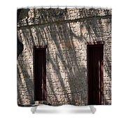 Texas Pioneer Church Doors Shower Curtain