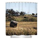 Texas Ranch Scene Shower Curtain