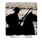 Texas Ranger Shower Curtain