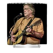 Texas Singer Songwriter Guy Clark Shower Curtain