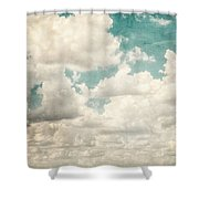 Texas Skies Shower Curtain