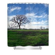 Texas Sky Shower Curtain