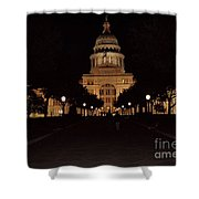 Texas State Capital Shower Curtain