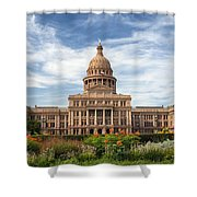 Texas State Capitol II Shower Curtain